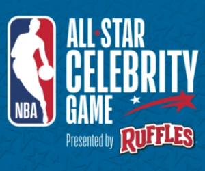 La NBA teste la ligne à 4 points lors du All Star Celebrity Game avec la marque de chips Ruffles
