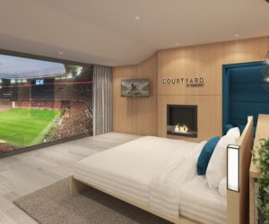 Fan Experience – « Courtyard by Marriott » installe une Suite à l'Allianz Arena du Bayern Munich
