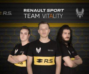 Le Groupe Renault se lance dans l'eSport avec la Team Vitality