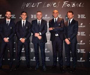 La Juventus et Hublot célèbrent le renouvellement de leur partenariat jusqu'en 2021 avec une montre à 13 900€