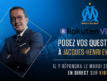 OM : Échangez avec Jacques-Henri Eyraud sur Viber ce mardi à 14 h 30