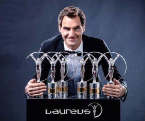 Laureus Awards : Roger Federer et Serena Williams élus athlètes de l'année 2017