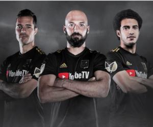 MLS – Le Los Angeles Football Club lève le voile sur les premiers maillots de son histoire