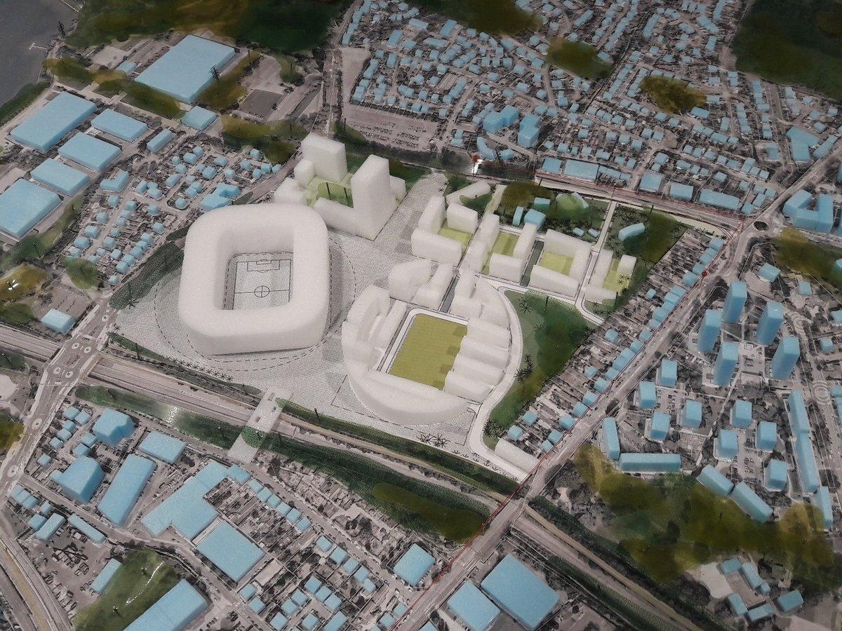 Yellopark les premi res maquettes du futur stade du fc for Salon de la beaujoire