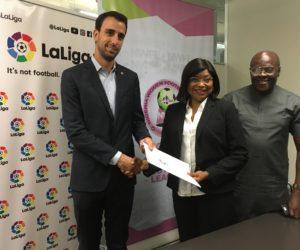 La Liga s'engage dans le football féminin au Nigéria