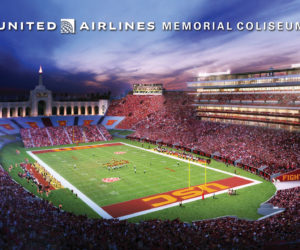 United Airlines s'offre le Naming du Los Angeles Memorial Coliseum