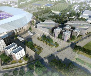 Groupama Stadium – Le pôle de loisirs «Smart City OL» se dévoile et proposera de nombreuses activités