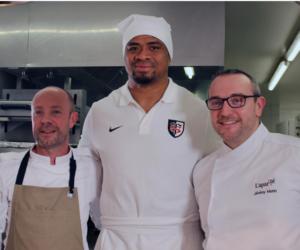 Le Stade Toulousain mêle gastronomie et rugby dans son concept «Passes croisées»