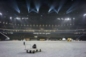 Une rencontre de Jeep Élite à la U Arena. Vers un record d'affluence pour un sport d'intérieur en France ?