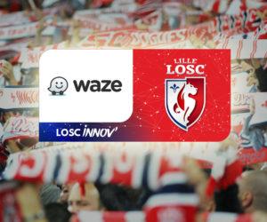 Le LOSC et Waze deviennent partenaires pour faciliter l'accès au stade Pierre Mauroy