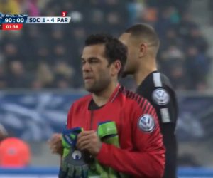 « Dani Alves a pu porter la nouvelle collection uhlsport Tension en match avant même Alphonse Aréola »