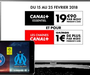 Bon Plan : L'intégralité des chaînes Canal+ à 20,90€/mois pendant 2 ans au lieu de 34,90€ jusqu'au 25 février 2018 !