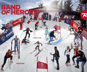 Rossignol rassemble une trentaine d'athlètes sous contrat sur la même photo «Band Of Heroes»