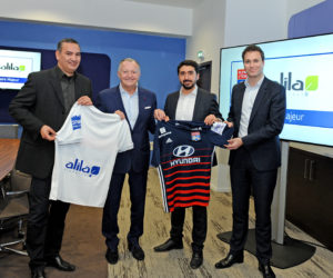 Un sponsor de l'OL laisse sa place sur le maillot au profit d'une association dès le derby contre l'ASSE