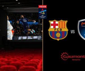 Handball – Le 1/8e retour de Ligue des Champions Barcelone-Montpellier au cinéma