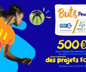 LFP – 25 500€ récupérés grâce à l'opération «Buts pour Elles»