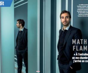 Mathieu Flamini s'exprime sur sa fortune supposée grâce à l'entreprise de biochimie GF Biochemicals