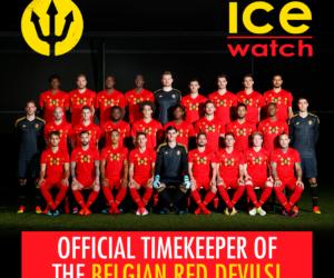 Sponsoring – Ice-Watch mise sur les Diables Rouges et Eden Hazard