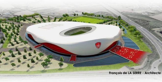 Le Stade Brestois présente son projet de nouveau stade