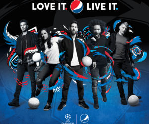 Pepsi lance sa nouvelle campagne «Love it. Live it. Football» avec Messi, Marcelo, Kroos, Dele Alli et Carli Lloyd