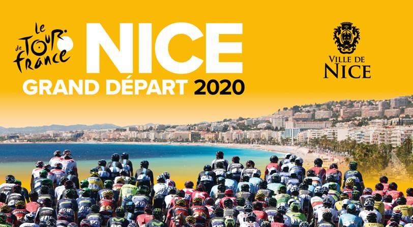 Le Tour de France 2020 partira de Nice — Cyclisme