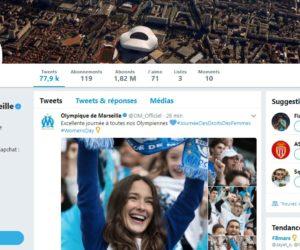 Le compte Twitter de l'OM suspendu – «La LFP n'y est pour rien, nous travaillons avec eux et nous avons de très bons rapports»