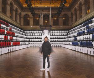 Adidas organise un atelier «créativité» à Paris en présence de David Beckham
