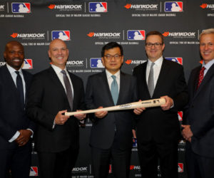 Sponsoring – Hankook nouveau pneu officiel de la Major League Baseball