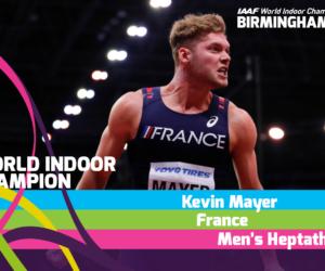 Le détail des primes distribuées lors des Championnats du Monde d'athlétisme indoor de Birmingham 2018