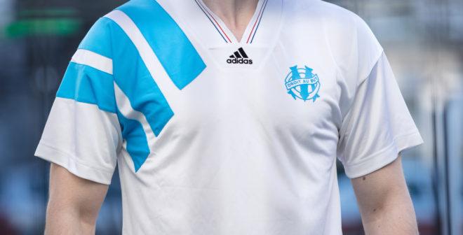 adidas dévoile le maillot collector Olympique de Marseille 1993 célébrant les 25 ans de la victoire en Ligue des Champions