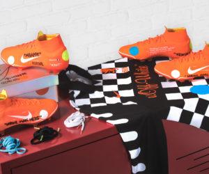 Kylian Mbappé portera une paire de crampons Nike conçue avec le créateur Virgil Abloh pour la Finale de Coupe de la Ligue