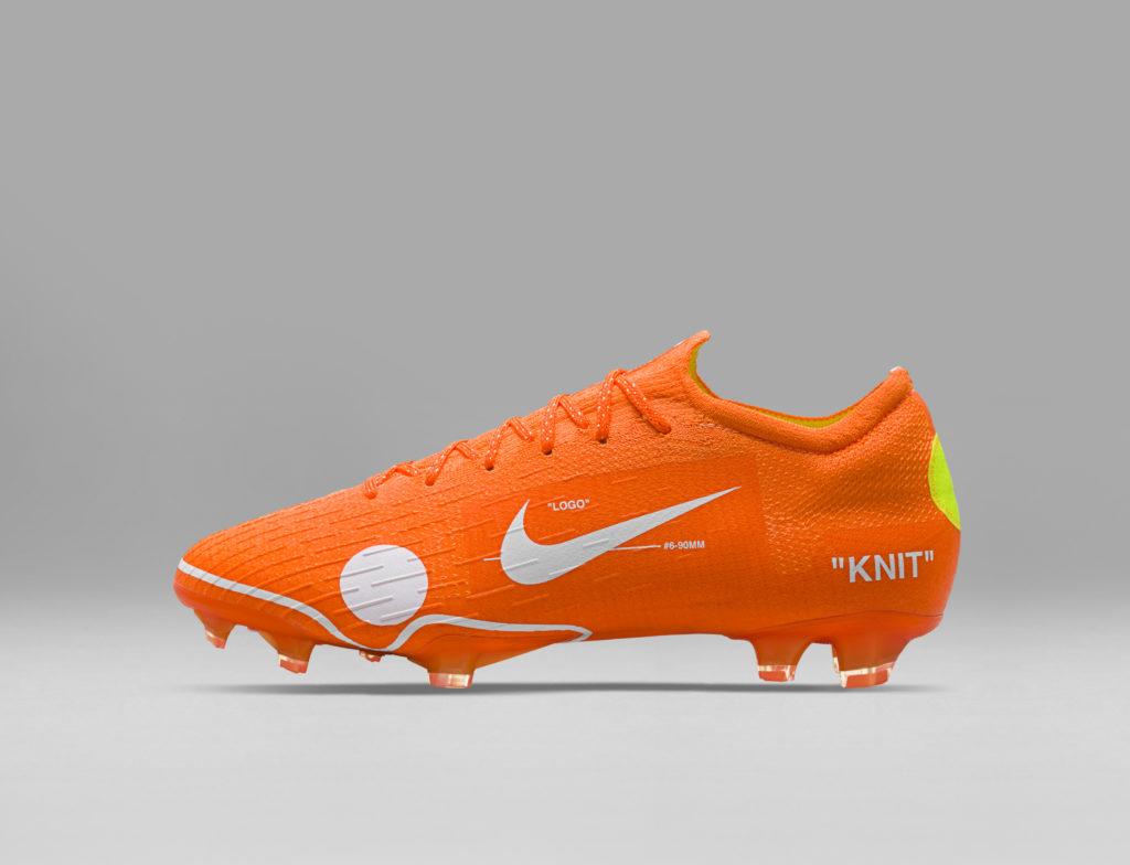 size 40 f59f8 f3c89 A noter quune quantité limitée de cette Nike Mercurial Vapor 360 x Virgil  Abloh sera en vente samedi 31 mars sur le site de la marque au swoosh.