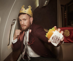 Conor McGregor nouvel ambassadeur de Burger King et roi du sport business devant Cristiano Ronaldo