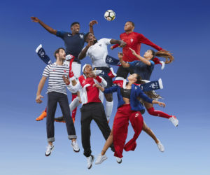 Nike dévoile les nouveaux maillots de l'Equipe de France de Football pour la Coupe du Monde 2018 organisée en Russie