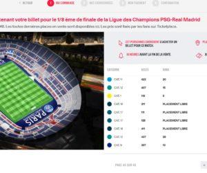 Champions League – Le prix des places encore en vente pour PSG – Real Madrid grimpe jusqu'à 11 187€