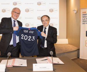 EDF prolonge son partenariat majeur avec la FFF jusqu'en 2023