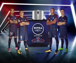 Nivea Men sort une eau de toilette aux couleurs du PSG