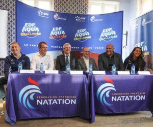 La Fédération Française de Natation et EDF lancent l'EDF Aqua Challenge