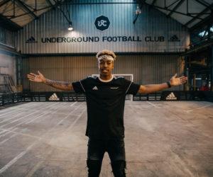 adidas lance l'Underground FC 2018 avec Presnel Kimpembe comme ambassadeur