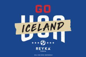 Une marque de Vodka invite les supporters américains à soutenir l'Islande pour la prochaine Coupe du Monde 2018