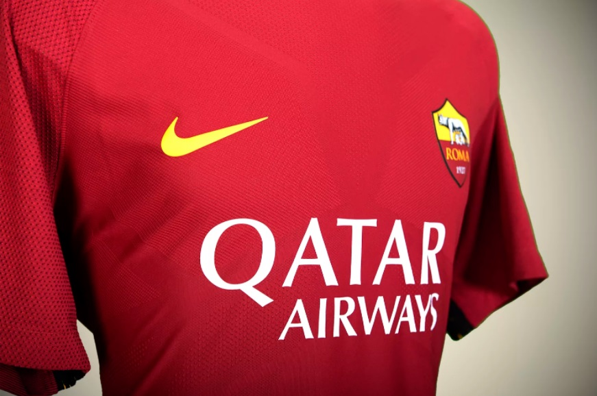 L'AS Rome annonce un partenariat avec Qatar Airways