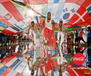 Coca-Cola dévoile son hymne officiel de la Coupe du Monde de Football Russie 2018 interprété par Jason Derulo