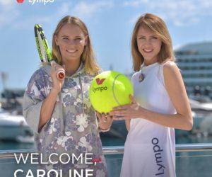 Caroline Wozniacki nouvelle ambassadrice de Lympo