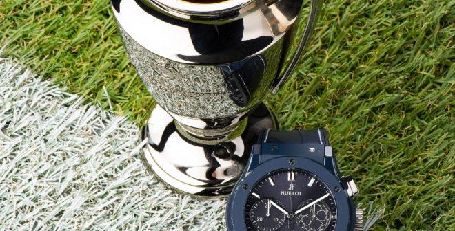 Hublot dévoile sa nouvelle montre UEFA Champions League (13 900€)