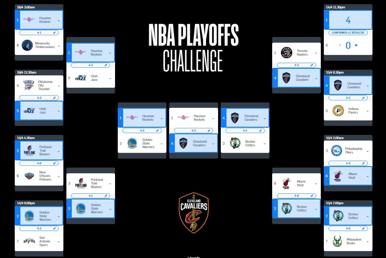 La NBA invite les Fans en France à remplir leur Bracket ...