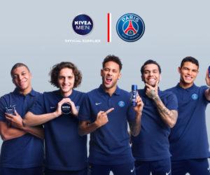 Nivea Men prolonge avec le PSG et dévoile sa nouvelle publicité avec 5 joueurs dont Neymar et Mbappé