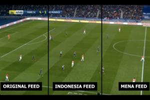 Le PSG lance la publicité virtuelle sur la panneautique LED du Parc des Princes