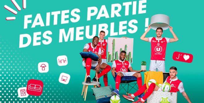 Vidéo décalée, campagne d'abonnements… Le Stade de Reims célèbre son retour en Ligue 1 en valorisant son futur partenaire Conforama