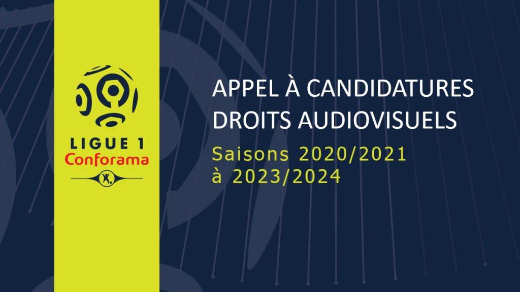 Appels d'offre diffusion Ligue 1