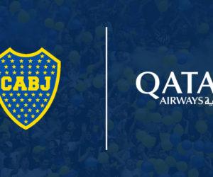 Qatar Airways nouveau sponsor maillot de Boca Juniors